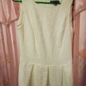 American Living lace white dress14.